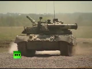 Самый лучший танк в мире!!!!(Т-90 Русский танк)