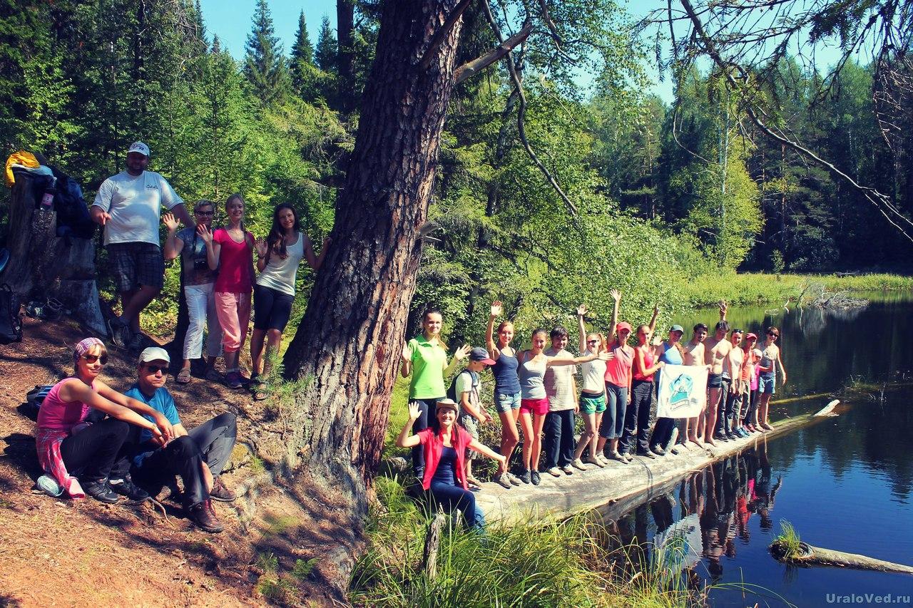 Ураловеды на Шадровских озерах