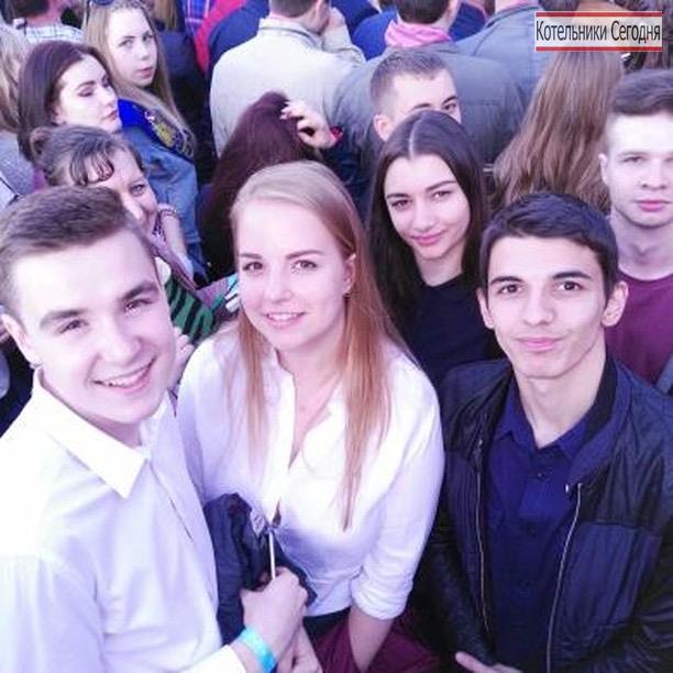 Выпускники Котельников на общеобластном выпускном