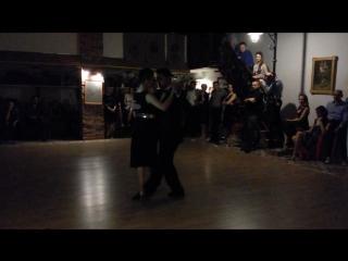 Ayelen Urrutia Martin Vicente, Quejas de bandoneon. Фестиваль В ритме танго, Арбат, Томск, ноябрь 2016