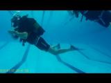 Учусь плавать с аквалангом!! )