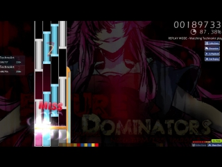 osu!mania DJ SHARPNEL - FUTURE DOMINATORS 4K EZ