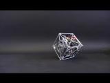 Куб, который удерживает равновесие в любом положении