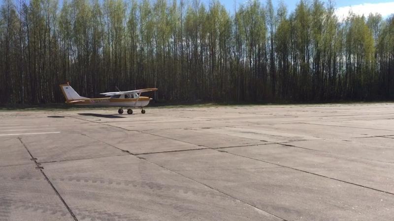 Мой полет на Cessna