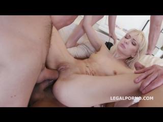 LegalPorno 7on1 Double Anal GangBang with Lola Shine No Pussy DAP Big Gapes 9 Facials Skinny sluts gets it hard GIO332 dp 2017