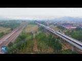В Китае испытывают поезд, способный развивать скорость до 350 км/ч