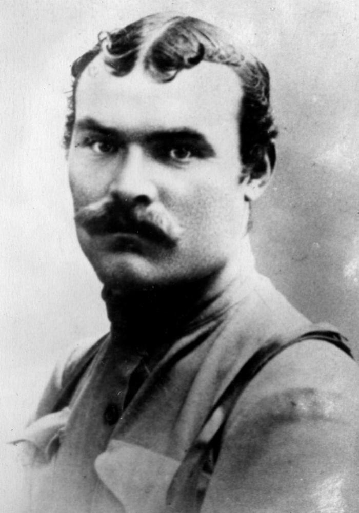 Василий Чапаев, Россия, 1917 год.