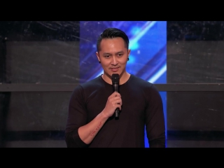 Magician Indonesia Demian Aditya in Audition America's Got Talent 2017