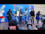 Кафу танцует с Бригадой У в Санкт-Петербурге