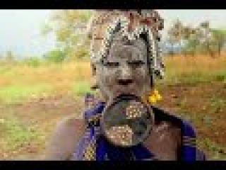 Дикая Африка Жизнь племени Мурси