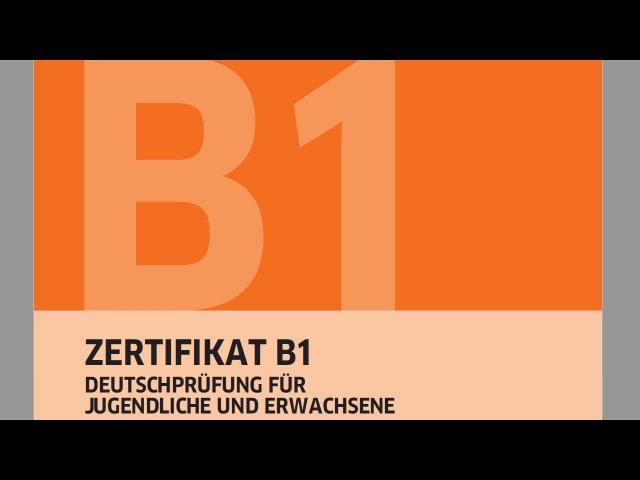 Экзамен по немецкому B1 Goethe-Zertifikat B1 ЧТЕНИЕ LESEN richtig falsch