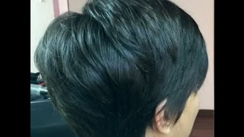 PIxie Haircut / Corte de pelo Pixie / Como hacerlo / paso a paso /Pixie cut