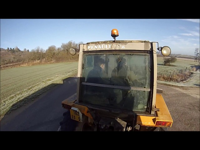 Transport et Chargement de Fumier 2016 [GoPro]