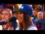Полина Трубенкова и Гусейн Гасанов в Comedy Club (31.03.2017) из сериала Камеди Клаб смотре...