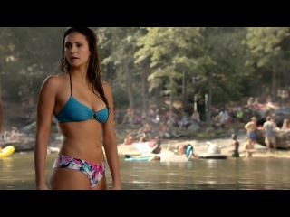 Nina Dobrev - Super Tight and Wet Bikini Body from The Vampire Diaries (720p)
