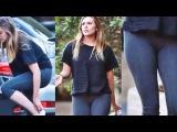 Elizabeth Olsen - Hot in Tights at Hike in Studio City (HD)