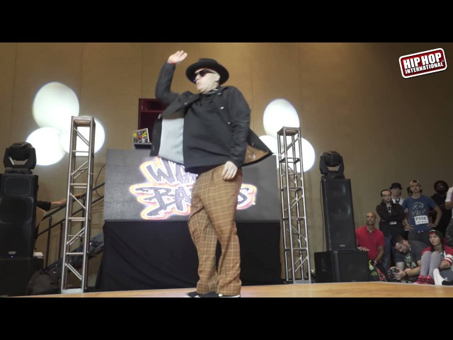 HHI2016 World Popping Battles: J Rock - USA vs Kriss - Russia (Top 8)