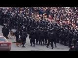 Задержание Ольги Лозиной. 26 марта 2017-менты бесчинствуют,собаки лают...