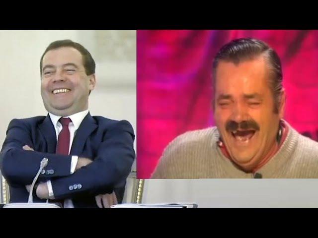 Интервью Дмитрия Медведева /Димон угорает над пенсионерами...