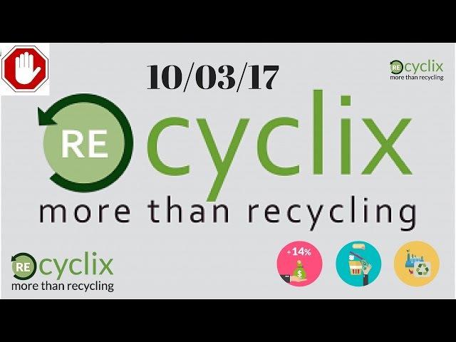 Aggiornamento: Fabbrica Bruciata di Recyclix..Ecco le novità! (La mia situa)