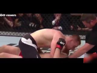 Алексей Олейник ЗАДУШИЛ громилу в последнем бою UFC! Весь зал взорвался!