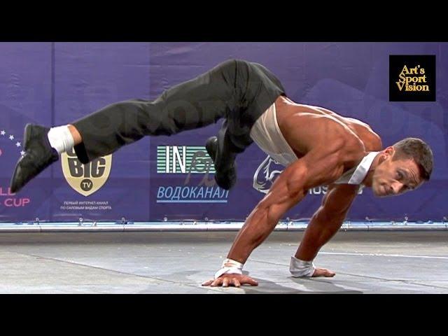 2013 World IFBB Mens FITNESS - NEKRASOV Konstantin (RUS) - Round 3 (Некрасов Константин)