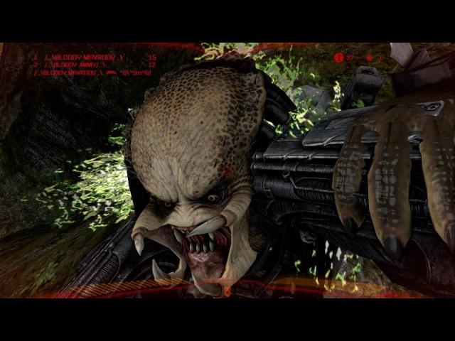 Mixed Species Team Deathmatch, Predator Gameplay - Multiplayer, Aliens vs Predator 2010