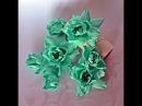 Kwiaty z foamiranu Foamiran flowers tutorial scrapbooking wykrojnik Craft Passion
