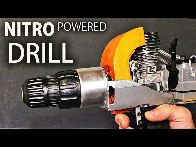 Nitro Engine Powered Drill