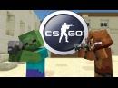 FNAF vs Mobs: CS:GO Challenge - Monster School (Five Nights At Freddy's)