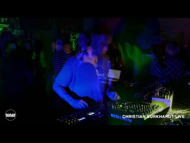 Techno Christian Burkhardt Boiler Room Frankfurt Live Set