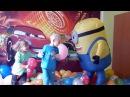 воздушные шарики лопаем | Киндер сюрприз | Детское видео | Миньоны