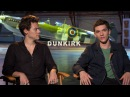 Harry Styles Fionn Whitehead talk about the new movie Dunkirk (legendas em português)