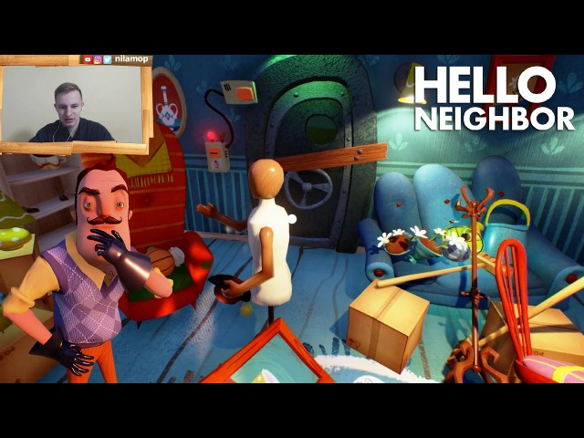 №265: Привет Сосед(Hello Neighbor) Альфа 2, пакостим СОСЕДУ и НАВОДИМ ПОРЯДКИ В ЕГО ДОМЕ helloneighboralpha1 helloneighbor приветсосед helloneighboralpha2 helloneighboralpha3 helloneighborprealpha
