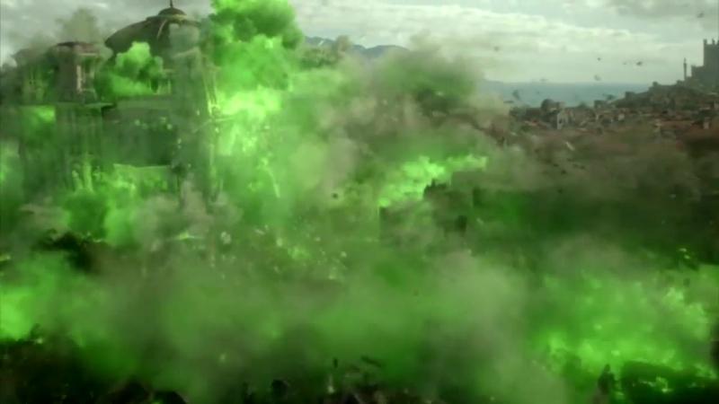 Взрыв дикого огня сезон 6 серия 10season 6 episode 10(Игра престоловGame of thrones_1