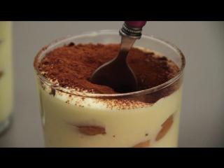 Десерты: как приготовить Тирамису парфе?