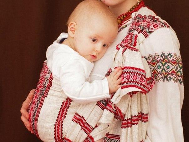 Как на Руси носили детей
