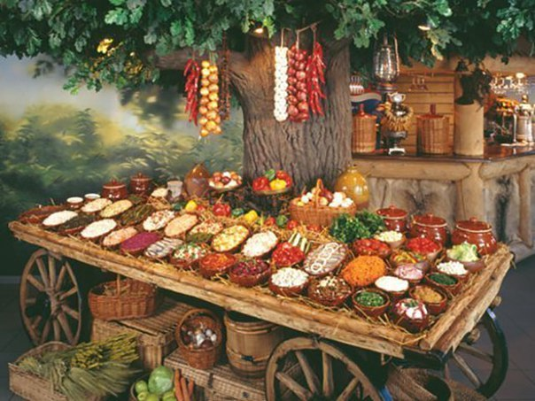 Славянские блюда