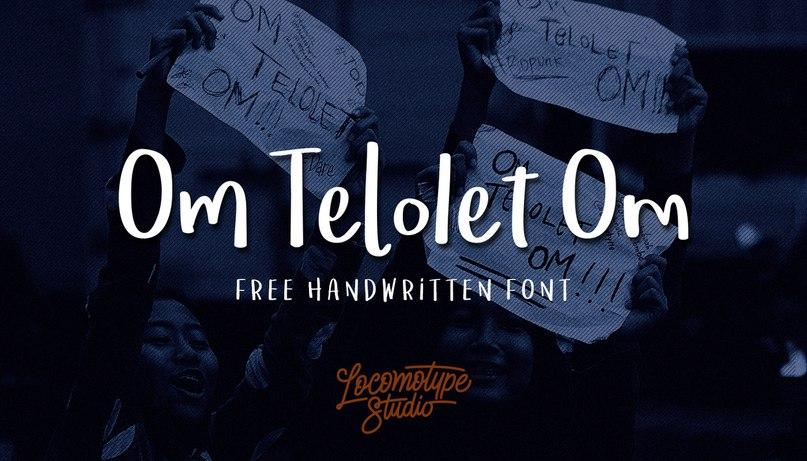 Download Om Telolet Om font (typeface)