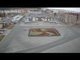 Сбили светофор на центральной площади СБК 4.09.2016