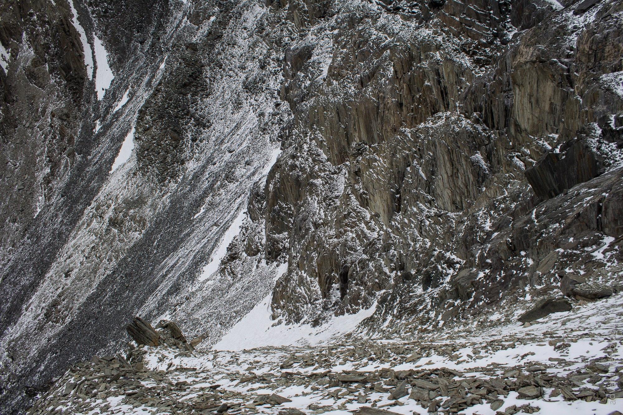 Спуск с перевала Абыл-оюк
