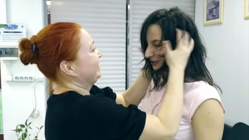 Мануальная пятиминутка от косметолога Ольги Шумариной