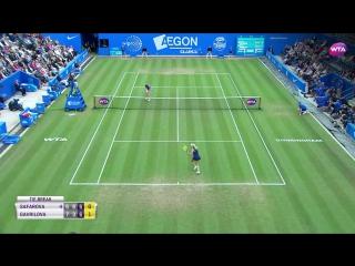 2017 Aegon Classic Hot Shot Quarterfinals - Lucie Safarova vs Daria Gavrilova -