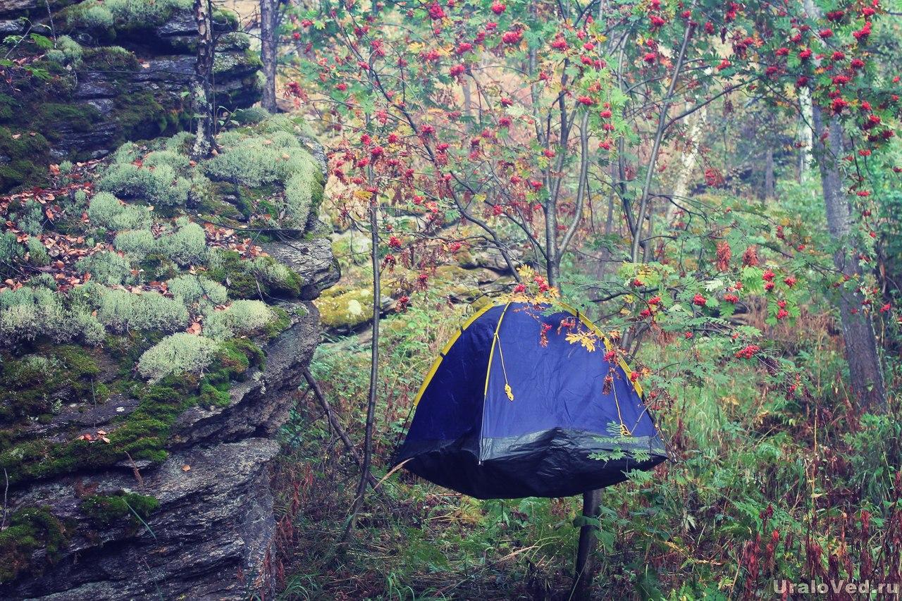 Палатка-скворечник