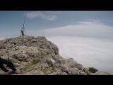 Вид с верху высота 1237 метров над уровнем моря !Гора Ай-Петри