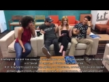 Chat LIVE with the cast of Shadowhunters 2х11 | RUS SUB | HS