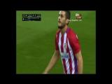 Малага 0-1 Атлетико гол Коке