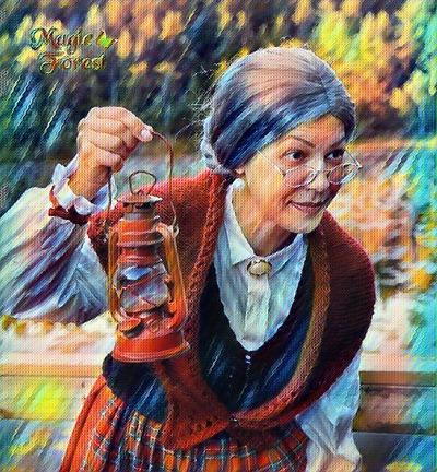 Christmas Granny