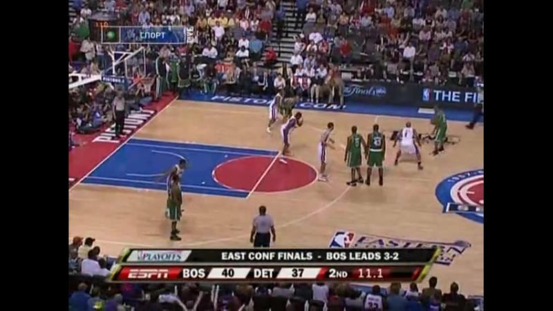 NBA Playoff 2008, Eastern Conference Finals game 6, Boston Celtics vs. Detroit Pistons