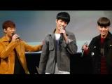 [Fancam] 161001 NU'EST Ma boy (by SISTAR 19) (JR, Ren /Автограф-сессия в 'Jayla Art Hall')